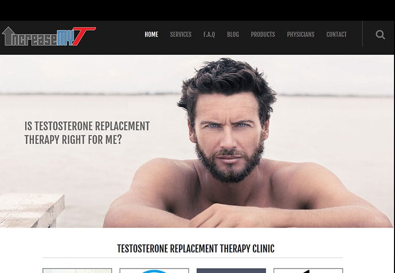 IncreaseMyT Testosterone Replacement Therapy Clinic