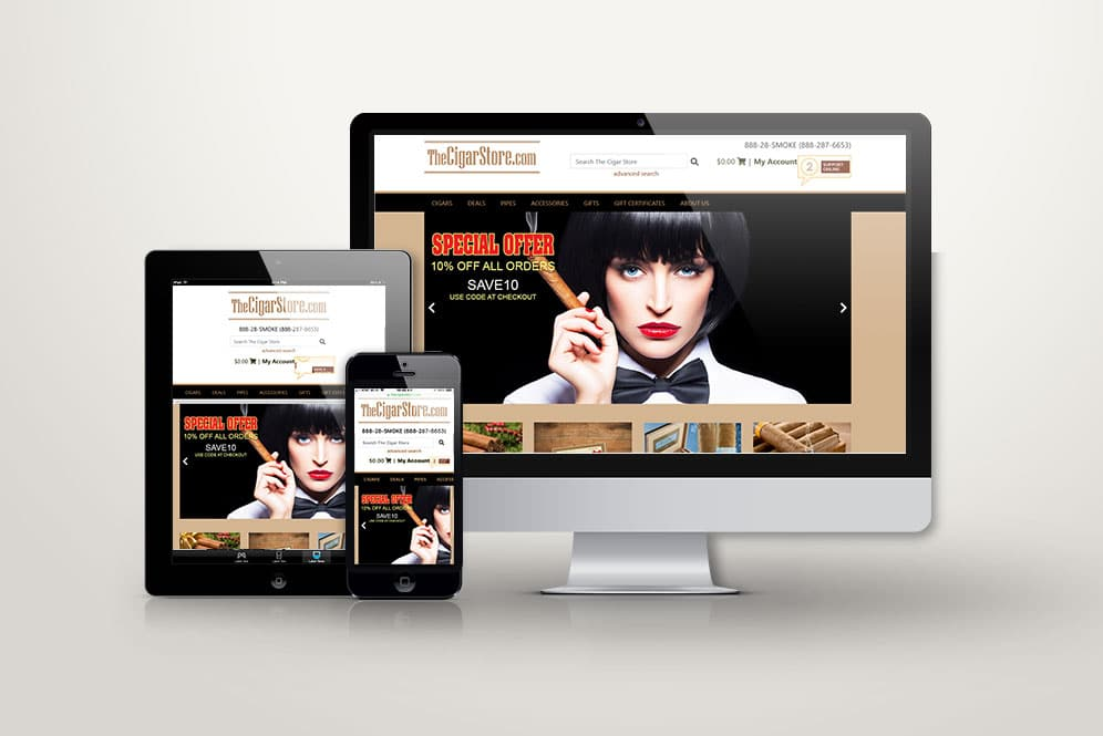 Responsive website designers and developers